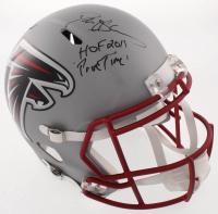 "Deion Sanders Signed Atlanta Falcons Full-Size Blaze Speed Helmet Inscribed ""Prime Time"" & ""HOF 2011"" (JSA COA) at PristineAuction.com"