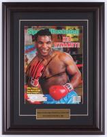 Mike Tyson Signed 14.5x18.5 Custom Framed Magazine Display (JSA COA) at PristineAuction.com