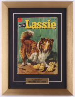 "Vintage 19754 ""Lassie"" MGM 13x17 Custom Framed Comic Book Display at PristineAuction.com"