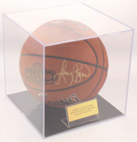 Larry Bird Signed Official 2017 All-Star Game Basketball with Display Case (PSA COA) at PristineAuction.com
