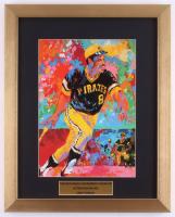 "LeRoy Neiman ""Willie Stargell & Roberto Clemente"" 14.5x18 Custom Framed Print at PristineAuction.com"