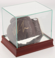 Mike Tyson Signed Vintage Everlast Boxing Glove with Display Case (JSA COA) at PristineAuction.com