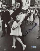 "Carl J. Muscarello Signed ""V-J Day in Times Square"" 8x10 Photo with Extensive inscription (Beckett COA) at PristineAuction.com"