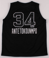 Giannis Antetokounmpo Signed Jersey (PSA COA) at PristineAuction.com