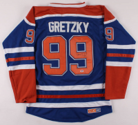 Wayne Gretzky Signed Edmonton Oilers Captains Jersey (PSA LOA) at PristineAuction.com