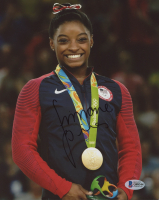 Simone Biles Signed Team USA 8x10 Photo (Beckett COA) at PristineAuction.com
