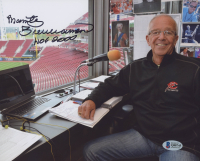"Marty Brennaman Signed 8x10 Photo Inscribed ""HOF 2000"" (Beckett COA) at PristineAuction.com"
