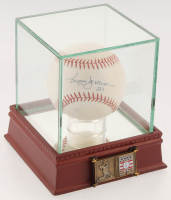 "Reggie Jackson Signed OAL Baseball Inscribed ""563"" with High Quality Display Case & Official Hall of Fame Pin (PSA COA) at PristineAuction.com"