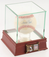 Johnny Bench Signed ONL Baseball with High Quality Display Case & Official Hall of Fame Pin (PSA COA) at PristineAuction.com