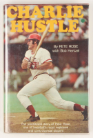 "Pete Rose Signed ""Charlie Hustle"" Hardcover Book (PSA COA) at PristineAuction.com"