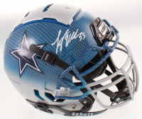 Leighton Vander Esch Signed Dallas Cowboys Full-Size Authentic On-Field Hydro-Dipped Helmet (JSA COA) at PristineAuction.com