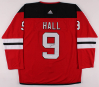 Taylor Hall Signed New Jersey Devils Jersey (JSA COA) at PristineAuction.com