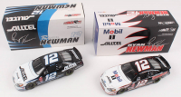 Lot of (2) Ryan Newman LE 1:24 Scale Die Cast Cars with #12 Alltel 2002 Taurus & #12 Alltel / Mobil 1 Speedpass 2002 Taurus at PristineAuction.com