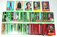 Lot of (86) 1977 Star Wars Cards with #260 Han Solo, #254 Darth Vader. #235 Luke Skywalker, #152 Spirited Princess Leia, #13 Alec Guiness as Ben OPC Sticker at PristineAuction.com