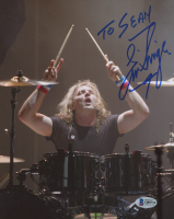 Eric Singer Signed 8x10 Photo (Beckett COA) at PristineAuction.com