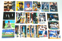 Lot of (51) Rickey Henderson Baseball Cards with 1995 Fleer #246, 1986 Leaf / Donruss #37, 1996 Pinnacle Aficionado #36, 2000 Fleer Tradition #390, 1998 Collector's Choice #30, 2000 Topps #104 at PristineAuction.com