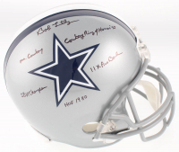 Bob Lilly Signed Dallas Cowboys Full-Size Helmet with (5) Career Stat Inscriptions (MAB Hologram) at PristineAuction.com