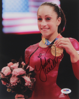 Jordyn Wieber Signed Team USA 8x10 Photo (PSA COA) at PristineAuction.com