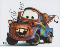"""Larry the Cable Guy Signed """"Cars"""" 8x10 Photo Inscribed """"Git-r-Done"""" (Beckett COA) at PristineAuction.com"""