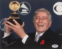 Tony Bennett Signed Grammy Awards 8x10 Photo (PSA COA) at PristineAuction.com