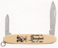 1955 Disneyland Souvenir Pocket Knife at PristineAuction.com