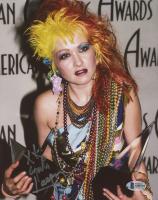 "Cyndi Lauper Signed 8x10 Photo Inscribed ""XX"" (Beckett COA) at PristineAuction.com"