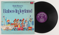 """Walt Disney """"Babes in Toyland"""" Vinyl Record Album with Booklet at PristineAuction.com"""