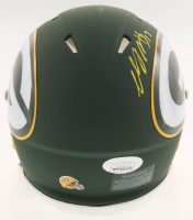 Davante Adams Signed Packers AMP Alternate Speed Mini Helmet (JSA COA) at PristineAuction.com