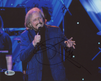 Barry Gibb Signed 8x10 Photo (Beckett COA) at PristineAuction.com