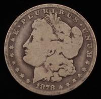 1878-CC $1 Morgan Silver Dollar at PristineAuction.com