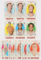 Lot of (20) 1969-70 Topps Basketball Cards with #2 Gail Goodrich RC, #84 Hal Greer, #27 Walt Hazzard RC, #44 Len Wilkens, #79 Tom Van Arsdale RC at PristineAuction.com