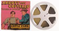 "1940's Vintage ""Abbott & Costello"" Castle Films Movie Film Reel at PristineAuction.com"