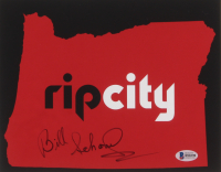 Bill Schonely Signed Portland Trail Blazers 8x10 Photo (Beckett COA) at PristineAuction.com