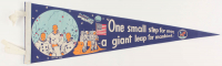 "1969 Moon Landing Commemorative 27"" Pennant at PristineAuction.com"