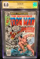 "Bob Layton Signed 1979 ""Iron Man"" Issue #120 Marvel Comic Book (CGC Encapsulated - 8.0) at PristineAuction.com"
