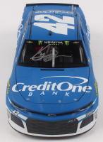 Kyle Larson Signed NASCAR #42 Credit One Bank 2019 Camaro ZL1 - 1:24 Premium Action Diecast Car (PA COA) at PristineAuction.com