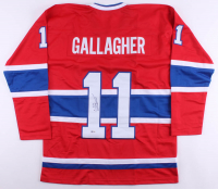 Brendan Gallagher Signed Jersey (Beckett COA) at PristineAuction.com