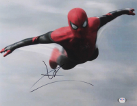"Tom Holland Signed ""Spider-Man: Homecoming"" 11x14 Photo (PSA COA) at PristineAuction.com"