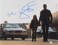 "Hugh Jackman & Dafne Keen Signed ""Logan"" 11x14 Photo (PSA COA) at PristineAuction.com"