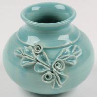Eugenijus Tamosiunas Signed Hand Made Ceramic Vase Sculpture at PristineAuction.com
