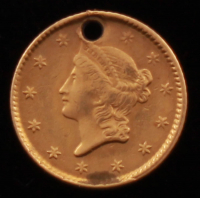 1851 $1 One Dollar Gold Coin (Altered) at PristineAuction.com