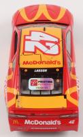 Kyle Larson Signed NASCAR #42 McDonald's 2019 Camaro ZL1 - 1:24 Premium Action Diecast Car (PA COA) at PristineAuction.com