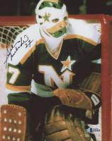 Gilles Meloche Signed Minnesota North Stars 8x10 Photo (Beckett COA) at PristineAuction.com