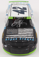 Kyle Larson Signed NASCAR #42 DC Solar Vegas Strong 2018 Camaro ZL1 - 1:24 Premium Action Diecast Car (PA COA) at PristineAuction.com