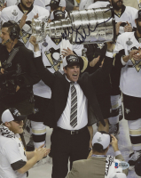 Mike Sullivan Signed Pittsburgh Penguins 8x10 Photo (Beckett COA) at PristineAuction.com