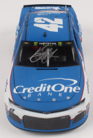 Kyle Larson Signed NASCAR #42 Credit One Bank Patriotic 2018 Camaro ZL1 - 1:24 Premium Action Diecast Car (PA COA) at PristineAuction.com