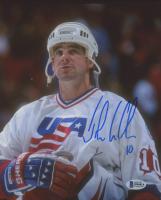 John LeClair Signed Team USA 8x10 Photo (Beckett COA) at PristineAuction.com