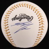 Nolan Arenado Signed Gold Glove Award Baseball (JSA COA) at PristineAuction.com