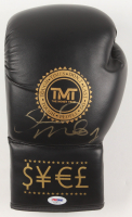 Floyd Mayweather Jr. Signed TMT Boxing Glove (PSA COA) at PristineAuction.com