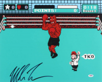 """Mike Tyson Signed """"Punch-Out!!"""" 16x20 Photo (PSA COA) at PristineAuction.com"""